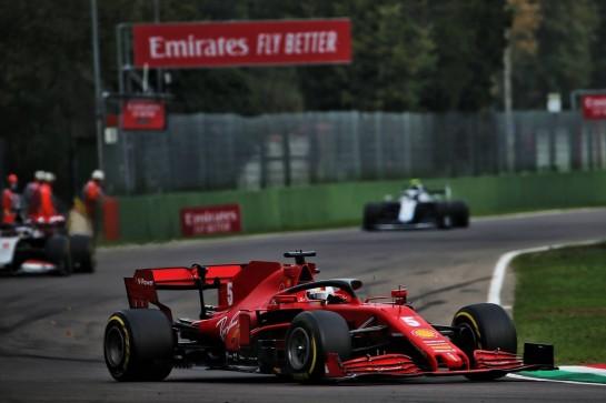 Sebastian Vettel (GER) Ferrari SF1000. 01.11.2020. Formula 1 World Championship, Rd 13, Emilia Romagna Grand Prix, Imola, Italy, Race Day. - www.xpbimages.com, EMail: requests@xpbimages.com © Copyright: Batchelor / XPB Images