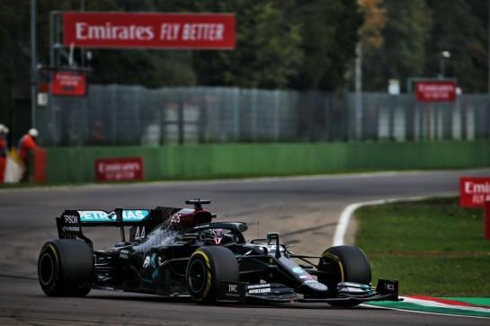 Lewis Hamilton (GBR) Mercedes AMG F1 W11. 01.11.2020. Formula 1 World Championship, Rd 13, Emilia Romagna Grand Prix, Imola, Italy, Race Day. - www.xpbimages.com, EMail: requests@xpbimages.com © Copyright: Batchelor / XPB Images