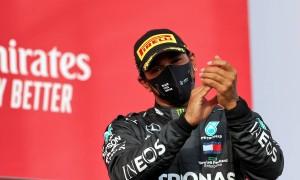 Hamilton hails 'incredible' Mercedes title achievement