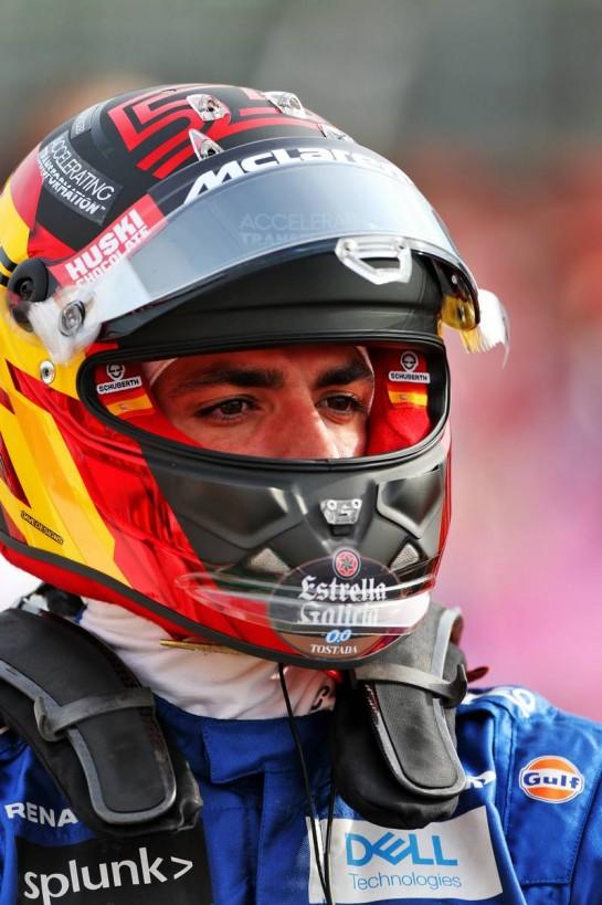 Carlos Sainz Jr (ESP) McLaren on the grid. 01.11.2020. Formula 1 World Championship, Rd 13, Emilia Romagna Grand Prix, Imola, Italy, Race Day. - www.xpbimages.com, EMail: requests@xpbimages.com © Copyright: Moy / XPB Images