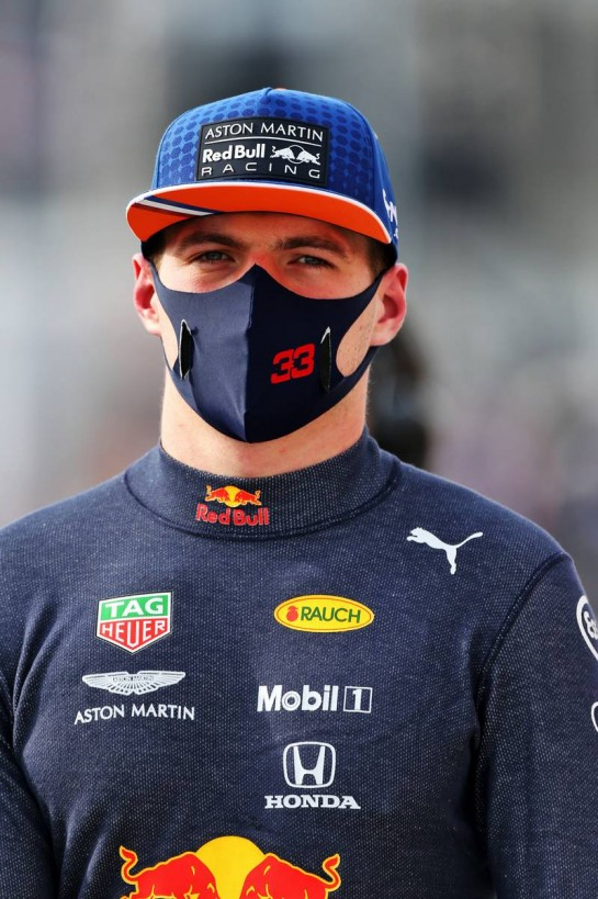Max Verstappen (NLD) Red Bull Racing on the grid. 01.11.2020. Formula 1 World Championship, Rd 13, Emilia Romagna Grand Prix, Imola, Italy, Race Day. - www.xpbimages.com, EMail: requests@xpbimages.com © Copyright: Moy / XPB Images