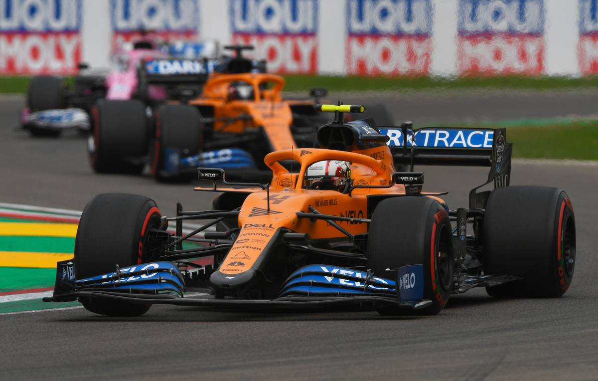 Norris sees 'lots of positives' from McLaren engine switch