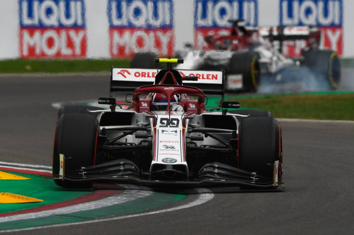 Antonio Giovinazzi (ITA) Alfa Romeo Racing C39.