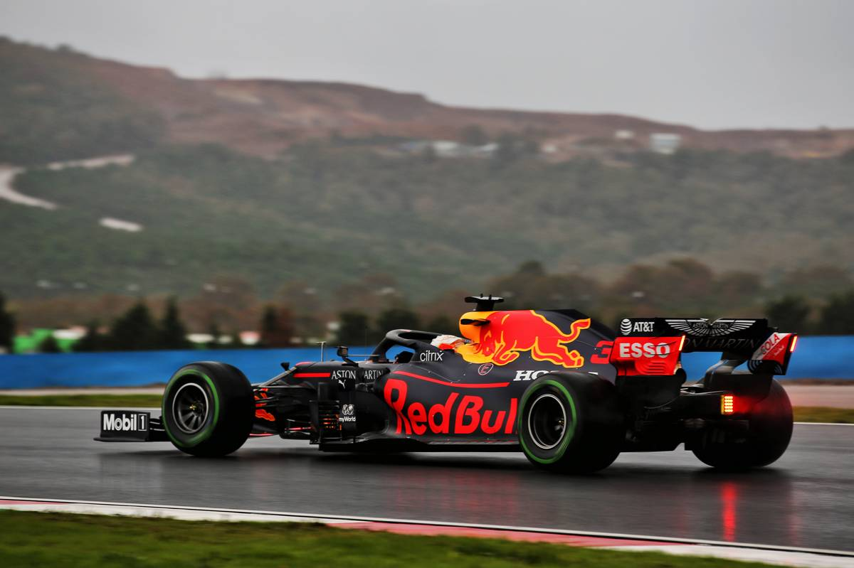 Verstappen tops washed-out FP3 session at Istanbul