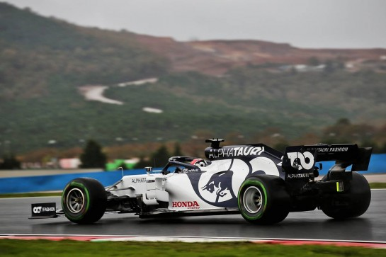 Daniil Kvyat (RUS) AlphaTauri AT01. 14.11.2020. Formula 1 World Championship, Rd 14, Turkish Grand Prix, Istanbul, Turkey, Qualifying Day. - www.xpbimages.com, EMail: requests@xpbimages.com © Copyright: Batchelor / XPB Images