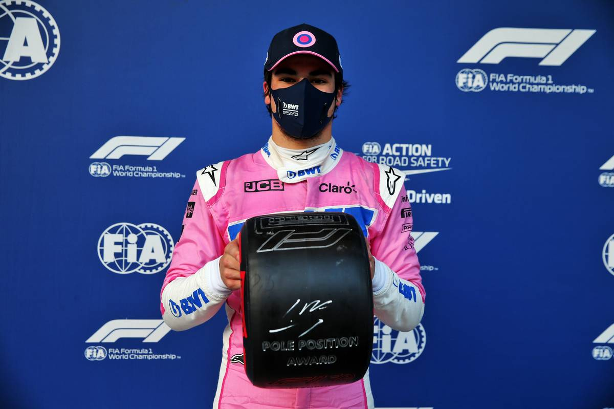 Stroll keeps pole, but Norris gets five-second penalty
