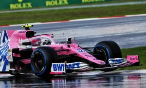 Racing Point: Stroll graining issue caused by damaged front wing