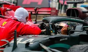 Ferrari harbors no regrets over failure to attract Hamilton
