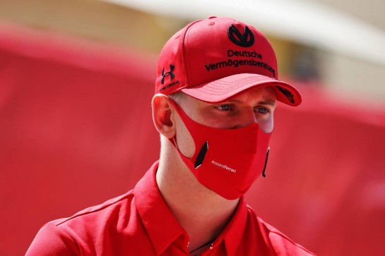 Mick Schumacher (GER) Ferrari Academy Driver. 26.11.2020. Formula 1 World Championship, Rd 15, Bahrain Grand Prix, Sakhir, Bahrain, Preparation Day. - www.xpbimages.com, EMail: requests@xpbimages.com © Copyright: Moy / XPB Images