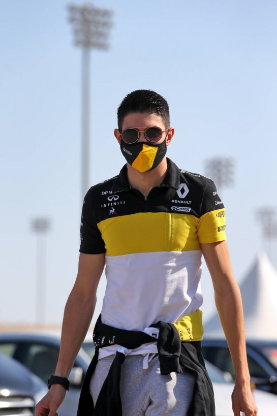 Esteban Ocon (FRA) Renault F1 Team.