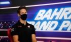 Romain Grosjean (FRA) Haas F1 Team in the FIA Press Conference. 26.11.2020. Formula 1 World Championship, Rd 15, Bahrain Grand Prix