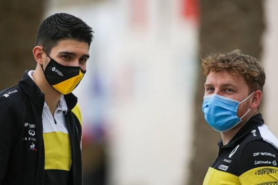 Esteban Ocon (FRA) Renault F1 Team. 27.11.2020. Formula 1 World Championship, Rd 15, Bahrain Grand Prix, Sakhir, Bahrain, Practice Day - www.xpbimages.com, EMail: requests@xpbimages.com © Copyright: Charniaux / XPB Images