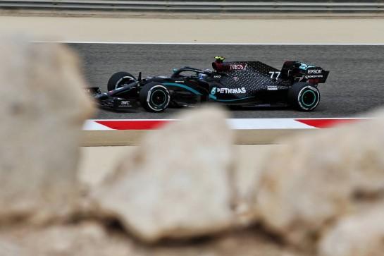 Valtteri Bottas (FIN) Mercedes AMG F1 W11. 27.11.2020. Formula 1 World Championship, Rd 15, Bahrain Grand Prix, Sakhir, Bahrain, Practice Day - www.xpbimages.com, EMail: requests@xpbimages.com © Copyright: Moy / XPB Images