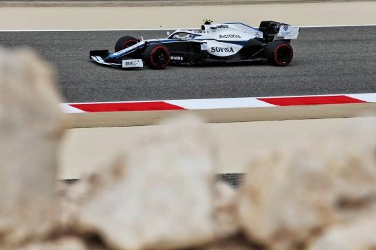 Nicholas Latifi (CDN) Williams Racing FW43. 27.11.2020. Formula 1 World Championship, Rd 15, Bahrain Grand Prix, Sakhir, Bahrain, Practice Day - www.xpbimages.com, EMail: requests@xpbimages.com © Copyright: Moy / XPB Images