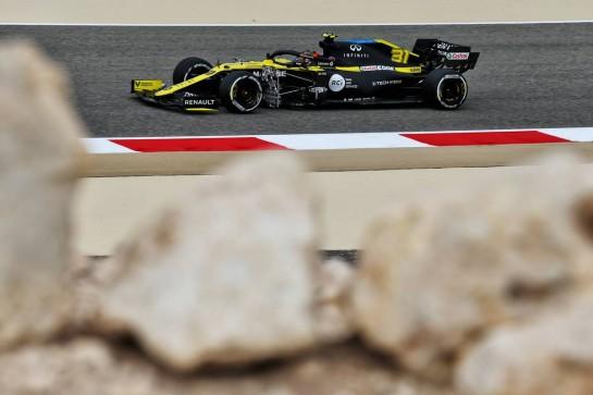 Esteban Ocon (FRA) Renault F1 Team RS20. 27.11.2020. Formula 1 World Championship, Rd 15, Bahrain Grand Prix, Sakhir, Bahrain, Practice Day - www.xpbimages.com, EMail: requests@xpbimages.com © Copyright: Moy / XPB Images
