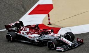 Robert Kubica (POL) Alfa Romeo Racing C39 Reserve Driver. 27.11.2020. Formula 1 World Championship, Rd 15, Bahrain Grand Prix