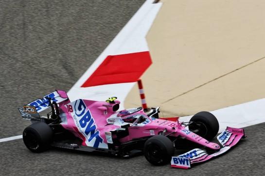 Lance Stroll (CDN) Racing Point F1 Team RP20. 27.11.2020. Formula 1 World Championship, Rd 15, Bahrain Grand Prix, Sakhir, Bahrain, Practice Day - www.xpbimages.com, EMail: requests@xpbimages.com © Copyright: Batchelor / XPB Images