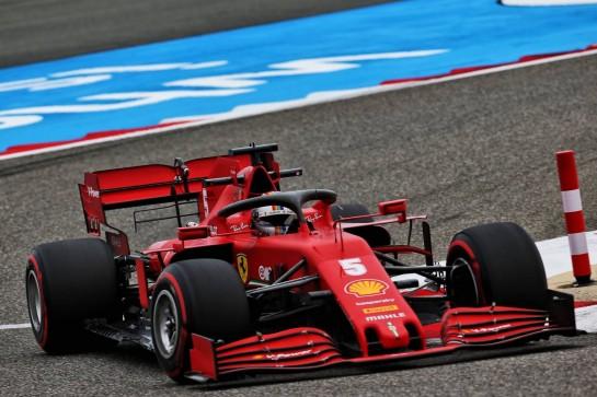Sebastian Vettel (GER) Ferrari SF1000. 27.11.2020. Formula 1 World Championship, Rd 15, Bahrain Grand Prix, Sakhir, Bahrain, Practice Day - www.xpbimages.com, EMail: requests@xpbimages.com © Copyright: Batchelor / XPB Images