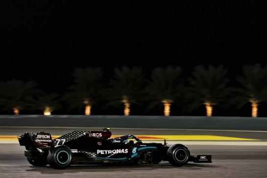 Valtteri Bottas (FIN) Mercedes AMG F1 W11. 27.11.2020. Formula 1 World Championship, Rd 15, Bahrain Grand Prix, Sakhir, Bahrain, Practice Day - www.xpbimages.com, EMail: requests@xpbimages.com © Copyright: Batchelor / XPB Images