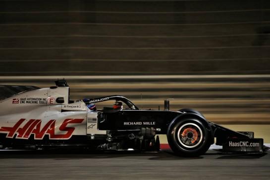 Romain Grosjean (FRA) Haas F1 Team VF-20. 27.11.2020. Formula 1 World Championship, Rd 15, Bahrain Grand Prix, Sakhir, Bahrain, Practice Day - www.xpbimages.com, EMail: requests@xpbimages.com © Copyright: Batchelor / XPB Images