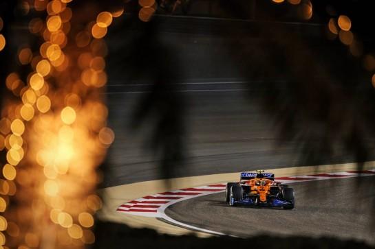 Lando Norris (GBR) McLaren MCL35. 27.11.2020. Formula 1 World Championship, Rd 15, Bahrain Grand Prix, Sakhir, Bahrain, Practice Day - www.xpbimages.com, EMail: requests@xpbimages.com © Copyright: Moy / XPB Images