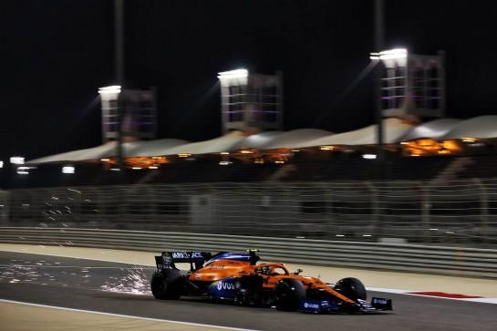 Lando Norris (GBR) McLaren MCL35. 27.11.2020. Formula 1 World Championship, Rd 15, Bahrain Grand Prix, Sakhir, Bahrain, Practice Day - www.xpbimages.com, EMail: requests@xpbimages.com © Copyright: Batchelor / XPB Images
