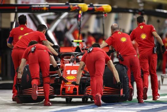 Charles Leclerc (MON) Ferrari SF1000. 27.11.2020. Formula 1 World Championship, Rd 15, Bahrain Grand Prix, Sakhir, Bahrain, Practice Day - www.xpbimages.com, EMail: requests@xpbimages.com © Copyright: Charniaux / XPB Images