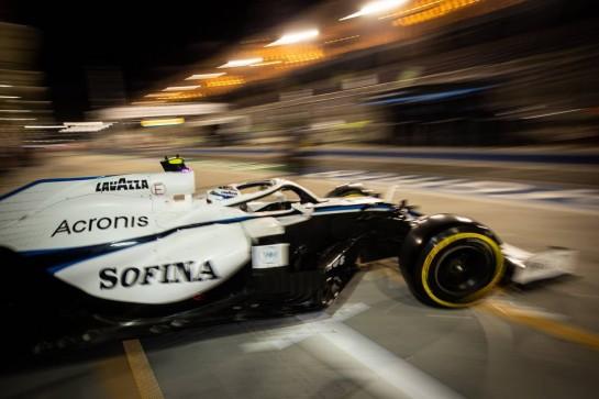 Nicholas Latifi (CDN) Williams Racing FW43. 27.11.2020. Formula 1 World Championship, Rd 15, Bahrain Grand Prix, Sakhir, Bahrain, Practice Day - www.xpbimages.com, EMail: requests@xpbimages.com © Copyright: Bearne / XPB Images