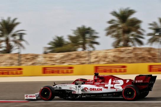 Kimi Raikkonen (FIN) Alfa Romeo Racing C39. 28.11.2020. Formula 1 World Championship, Rd 15, Bahrain Grand Prix, Sakhir, Bahrain, Qualifying Day. - www.xpbimages.com, EMail: requests@xpbimages.com © Copyright: Batchelor / XPB Images