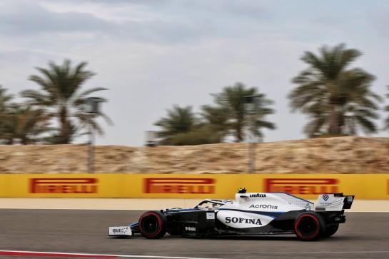 Nicholas Latifi (CDN) Williams Racing FW43. 28.11.2020. Formula 1 World Championship, Rd 15, Bahrain Grand Prix, Sakhir, Bahrain, Qualifying Day. - www.xpbimages.com, EMail: requests@xpbimages.com © Copyright: Batchelor / XPB Images