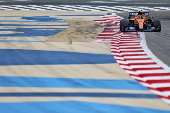Lando Norris (GBR) McLaren MCL35. 28.11.2020. Formula 1 World Championship, Rd 15, Bahrain Grand Prix, Sakhir, Bahrain, Qualifying Day. - www.xpbimages.com, EMail: requests@xpbimages.com © Copyright: Moy / XPB Images