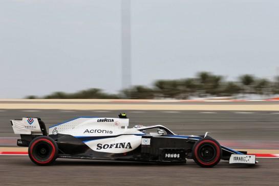 Nicholas Latifi (CDN) Williams Racing FW43. 28.11.2020. Formula 1 World Championship, Rd 15, Bahrain Grand Prix, Sakhir, Bahrain, Qualifying Day. - www.xpbimages.com, EMail: requests@xpbimages.com © Copyright: Moy / XPB Images