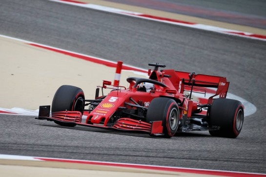 Sebastian Vettel (GER) Ferrari SF1000. 28.11.2020. Formula 1 World Championship, Rd 15, Bahrain Grand Prix, Sakhir, Bahrain, Qualifying Day. - www.xpbimages.com, EMail: requests@xpbimages.com © Copyright: Batchelor / XPB Images