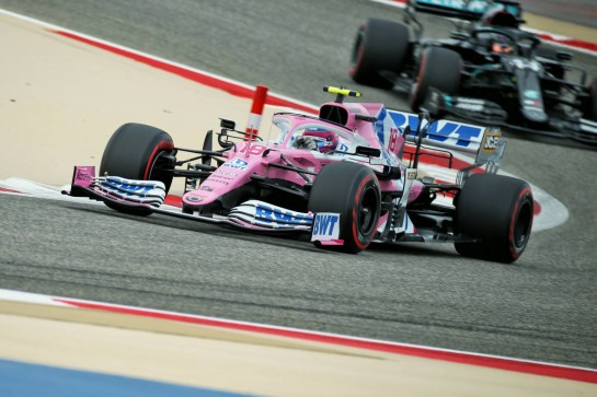 Lance Stroll (CDN) Racing Point F1 Team RP20. 28.11.2020. Formula 1 World Championship, Rd 15, Bahrain Grand Prix, Sakhir, Bahrain, Qualifying Day. - www.xpbimages.com, EMail: requests@xpbimages.com © Copyright: Batchelor / XPB Images