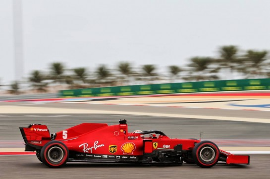 Sebastian Vettel (GER) Ferrari SF1000. 28.11.2020. Formula 1 World Championship, Rd 15, Bahrain Grand Prix, Sakhir, Bahrain, Qualifying Day. - www.xpbimages.com, EMail: requests@xpbimages.com © Copyright: Moy / XPB Images