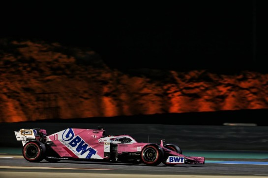 Sergio Perez (MEX) Racing Point F1 Team RP19. 28.11.2020. Formula 1 World Championship, Rd 15, Bahrain Grand Prix, Sakhir, Bahrain, Qualifying Day. - www.xpbimages.com, EMail: requests@xpbimages.com © Copyright: Batchelor / XPB Images