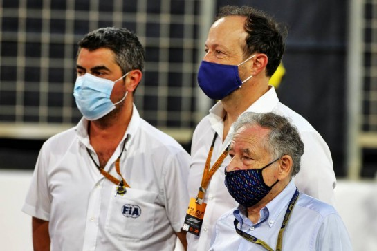 Jean Todt (FRA) FIA President on the grid. 29.11.2020. Formula 1 World Championship, Rd 15, Bahrain Grand Prix, Sakhir, Bahrain, Race Day. - www.xpbimages.com, EMail: requests@xpbimages.com © Copyright: Moy / XPB Images