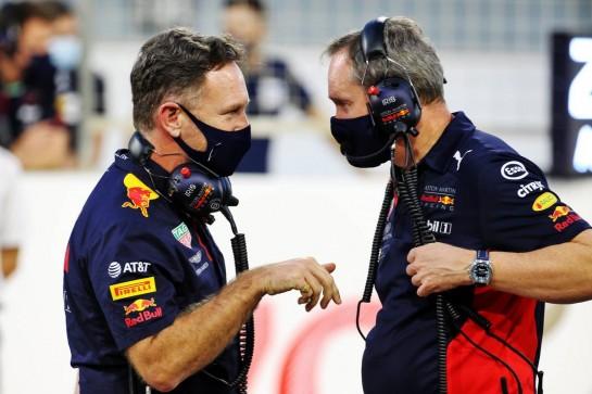 Christian Horner (GBR) Red Bull Racing Team Principal on the grid. 29.11.2020. Formula 1 World Championship, Rd 15, Bahrain Grand Prix, Sakhir, Bahrain, Race Day. - www.xpbimages.com, EMail: requests@xpbimages.com © Copyright: Batchelor / XPB Images