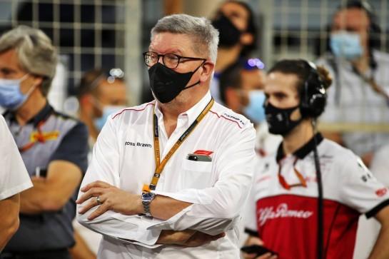 Ross Brawn (GBR) Managing Director, Motor Sports on the grid. 29.11.2020. Formula 1 World Championship, Rd 15, Bahrain Grand Prix, Sakhir, Bahrain, Race Day. - www.xpbimages.com, EMail: requests@xpbimages.com © Copyright: Batchelor / XPB Images