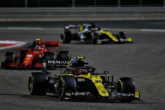 Esteban Ocon (FRA) Renault F1 Team RS20. 29.11.2020. Formula 1 World Championship, Rd 15, Bahrain Grand Prix, Sakhir, Bahrain, Race Day. - www.xpbimages.com, EMail: requests@xpbimages.com © Copyright: Moy / XPB Images