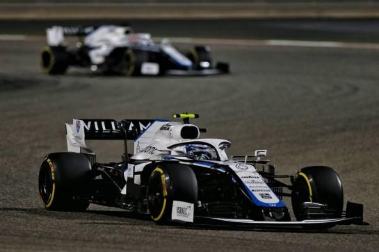 Nicholas Latifi (CDN) Williams Racing FW43. 29.11.2020. Formula 1 World Championship, Rd 15, Bahrain Grand Prix, Sakhir, Bahrain, Race Day. - www.xpbimages.com, EMail: requests@xpbimages.com © Copyright: Moy / XPB Images