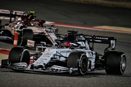 Daniil Kvyat (RUS) AlphaTauri AT01. 29.11.2020. Formula 1 World Championship, Rd 15, Bahrain Grand Prix, Sakhir, Bahrain, Race Day. - www.xpbimages.com, EMail: requests@xpbimages.com © Copyright: Batchelor / XPB Images