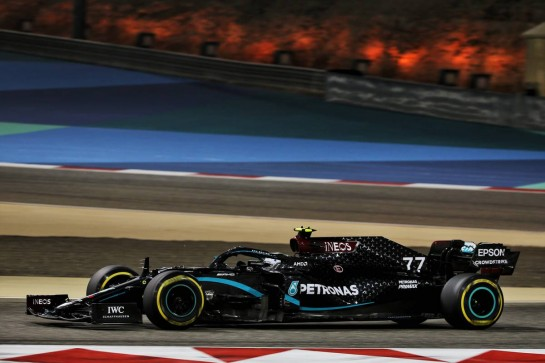 Valtteri Bottas (FIN) Mercedes AMG F1 W11. 29.11.2020. Formula 1 World Championship, Rd 15, Bahrain Grand Prix, Sakhir, Bahrain, Race Day. - www.xpbimages.com, EMail: requests@xpbimages.com © Copyright: Batchelor / XPB Images