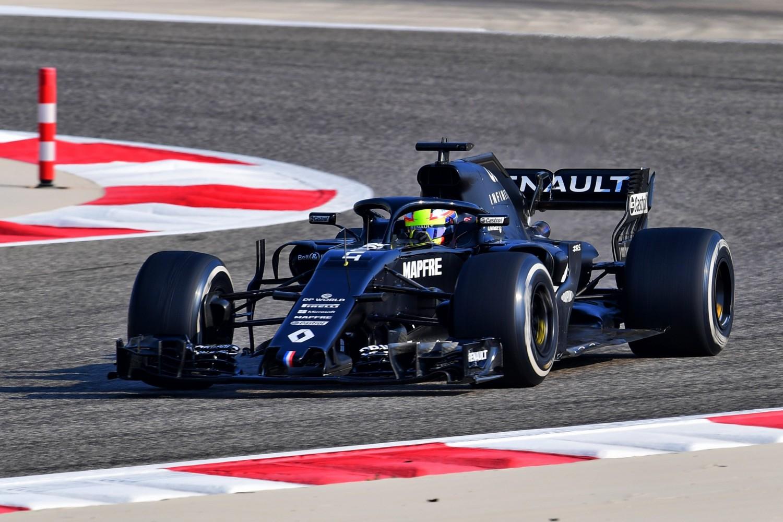 Renault juniors wrap up Bahrain four-day F1 test