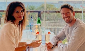 Marion Grosjean hails 'superhero' husband, his rescuers and fans