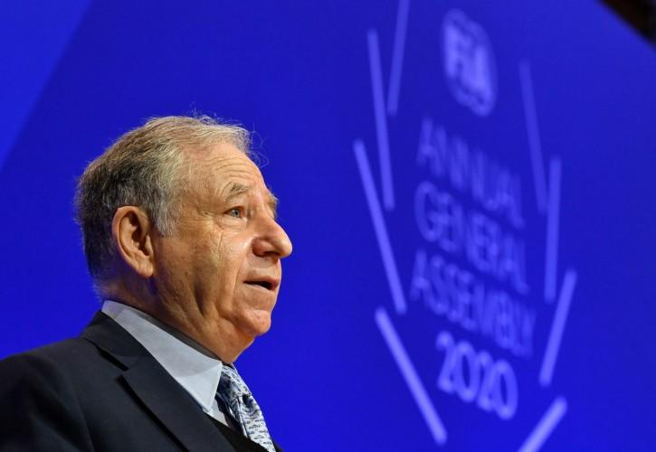 Jean Todt - 2020 FIA Prize Giving Ceremony - Geneva - Friday December 18 2020.
