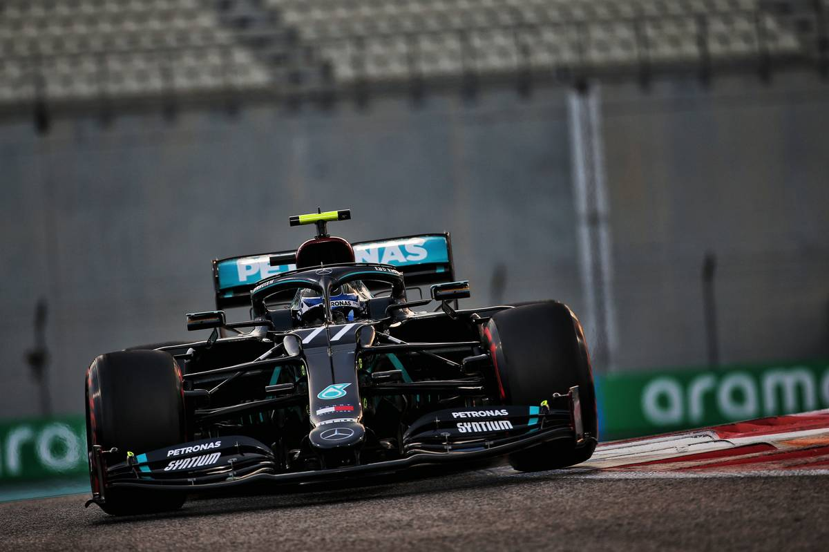 Valtteri Bottas (FIN) Mercedes AMG F1 W11. 12.12.2020. Formula 1 World Championship, Rd 17, Abu Dhabi Grand Prix