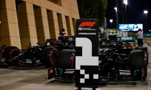 Bottas and Russell secure Sakhir front row for Mercedes
