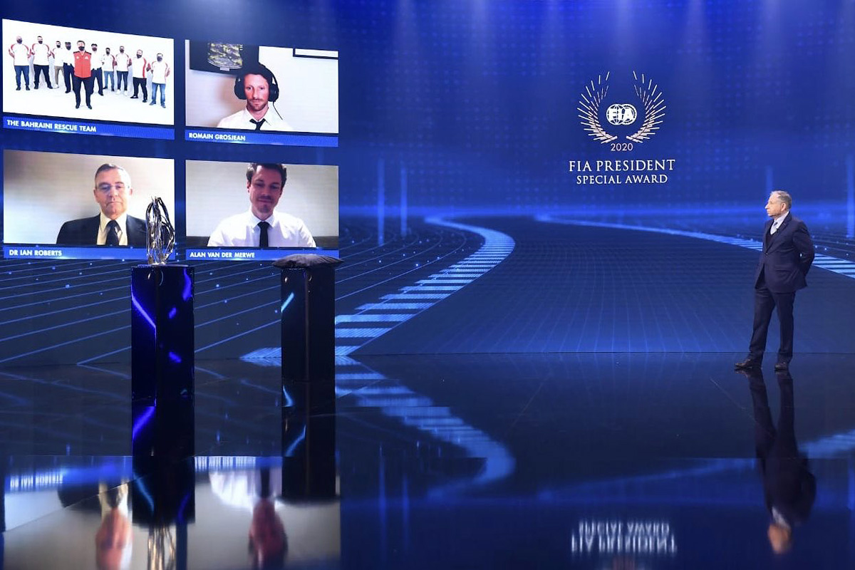 2020 FIA Prize Giving Ceremony - Geneva - Friday December 18 2020.