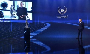 Lewis Hamilton - 2020 FIA Prize Giving Ceremony - Geneva - Friday December 18 2020.